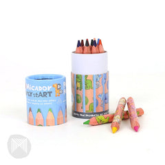 MICADOR Triangle Pencil Purse Pack, Pack12 early stART