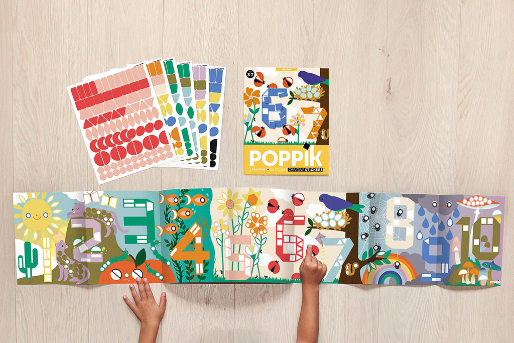 POPPIK Creative Stickers - Numbers