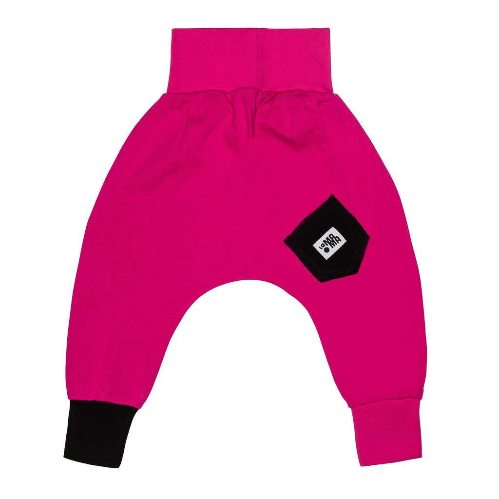 lamama Hot Pink Spring/Summer Yoga Pants