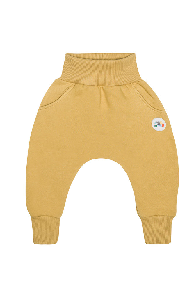 lamama Mustard Winter Yoga Pants