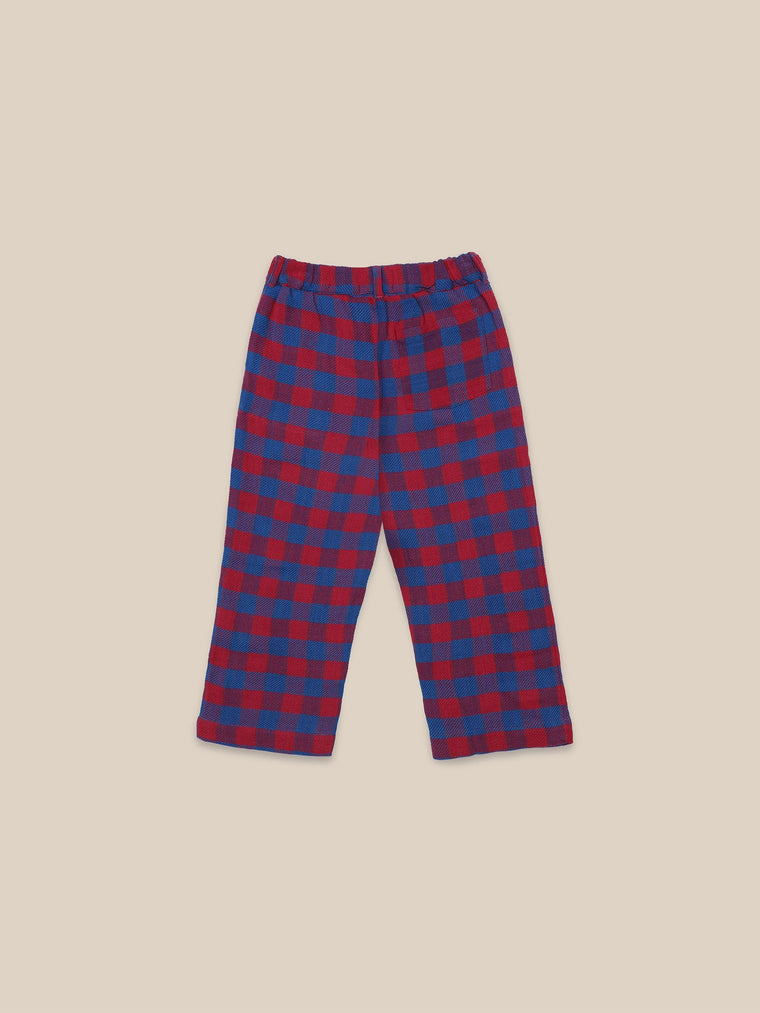 BOBO CHOSES Tartan Woven Pants