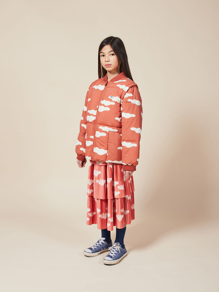 BOBO CHOSES Clouds All Over Woven Skirt
