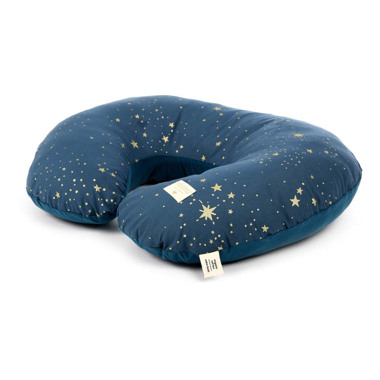 Nursing pillow Sunrise • gold stella night blue Nobodinoz