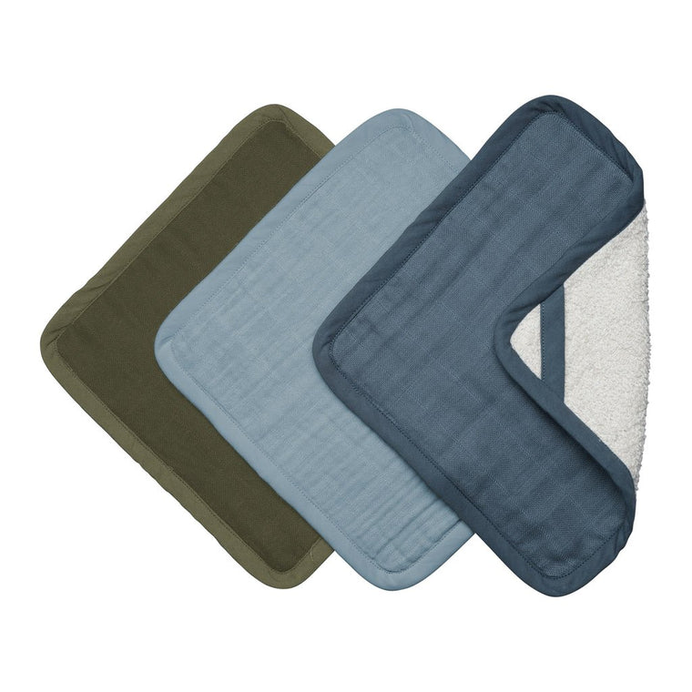 Fabelab Washcloths - 3 Pack - Coastal