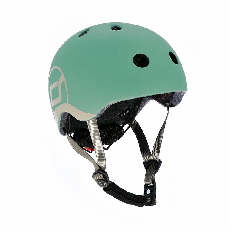 Scoot & Ride Highway Helmet FOREST XS/S (Age 1-3 Years)