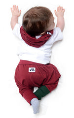 lamama Mini Yoga Pants Burgundy