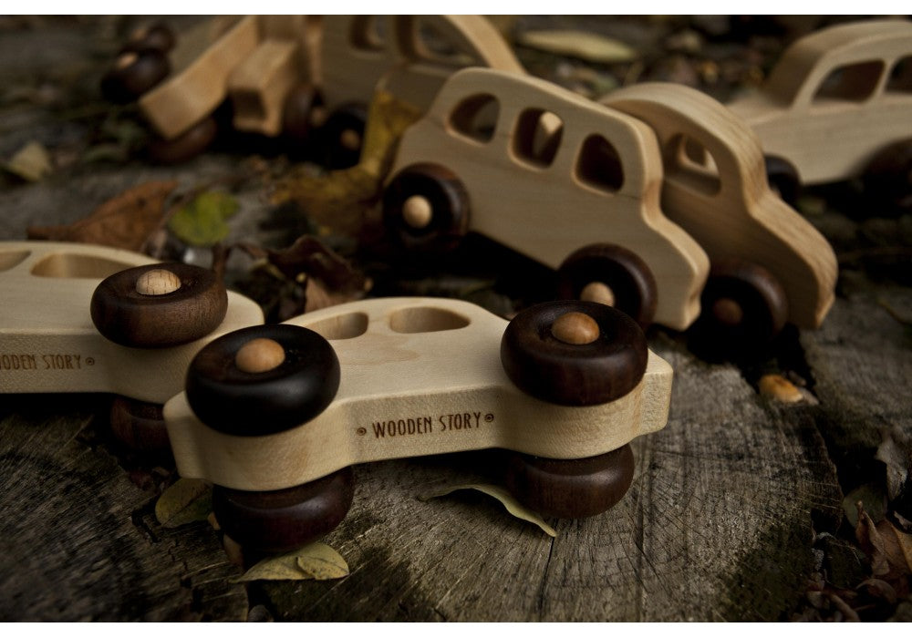 Wooden Story English Taxi