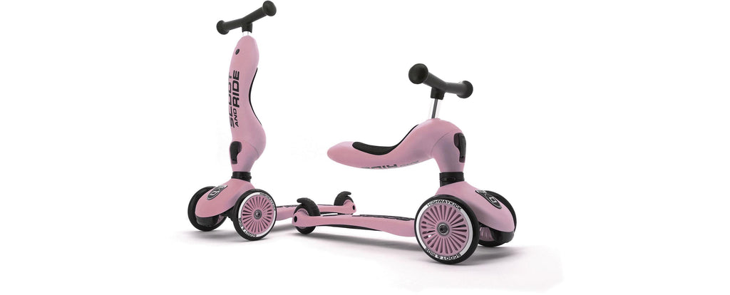 Scoot & Ride Highwaykick 1 - ROSE