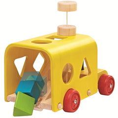 Plan Toys - Sorting Bus