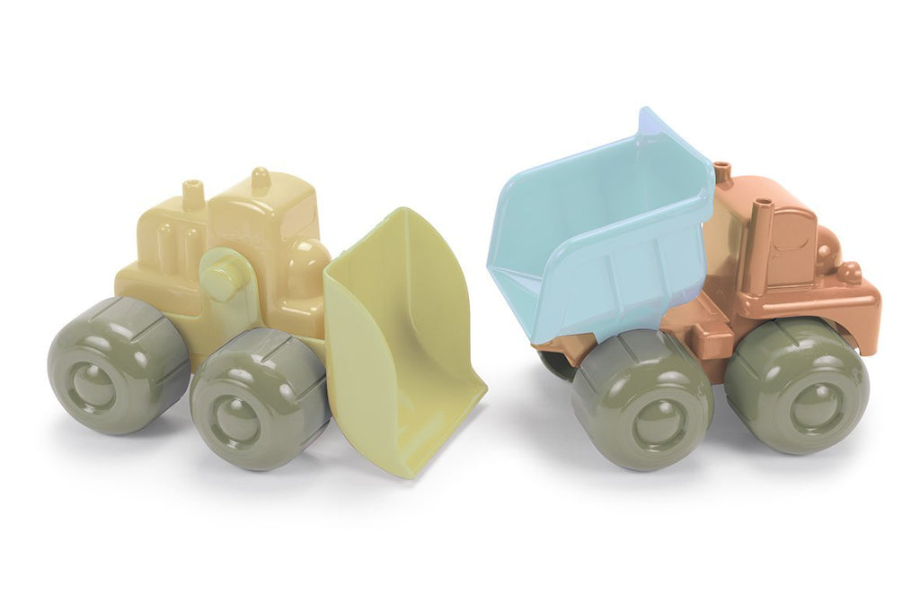 DanToy Bioplastic Bulldozer and Truck in a Gift Box