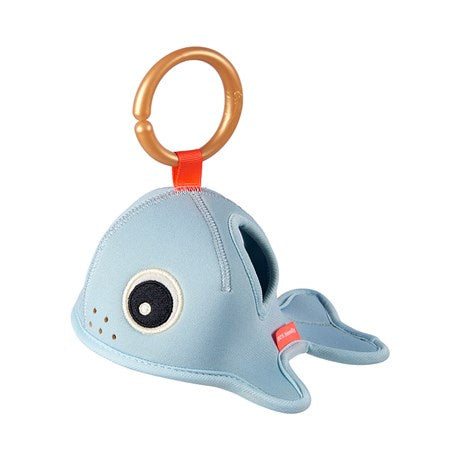 done by deer, Bath time activity toy Sea Friends Blue Wally