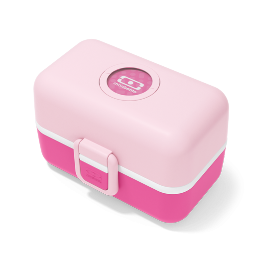 Monbento Tresor Children's Lunch Box Pink Litchi