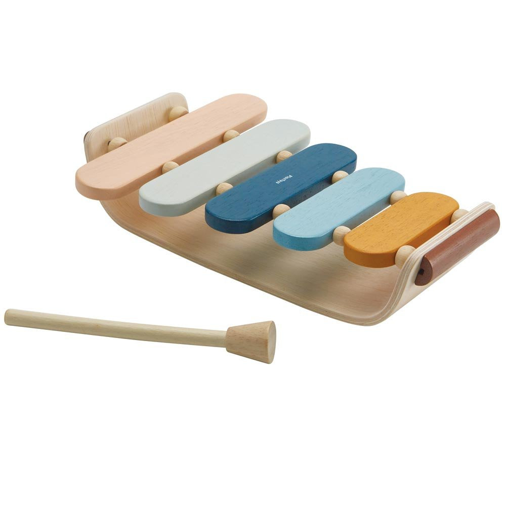 Plan Toys -Oval Xylophone Orchard Collection