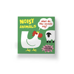 Noisy Animals (A Matching Game): What Do the Animals Say? (100 Ideas)