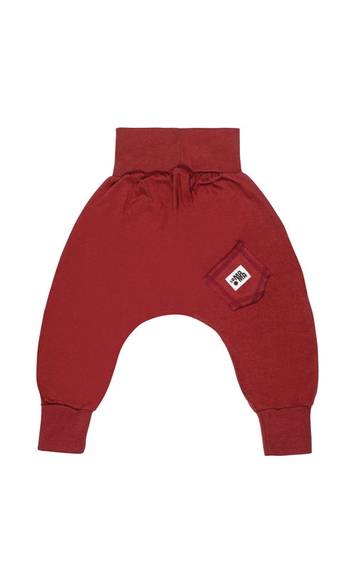 lamama Burgundy Spring/Summer Yoga Pants