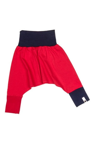 lamama Mini Yoga Pants RED + NAVY