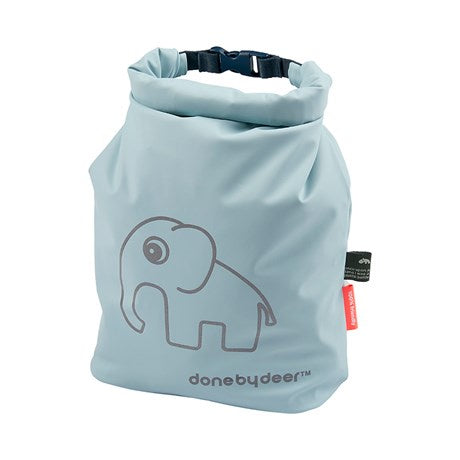 Done by deer, Roll-top storage bag, Elphee, blue