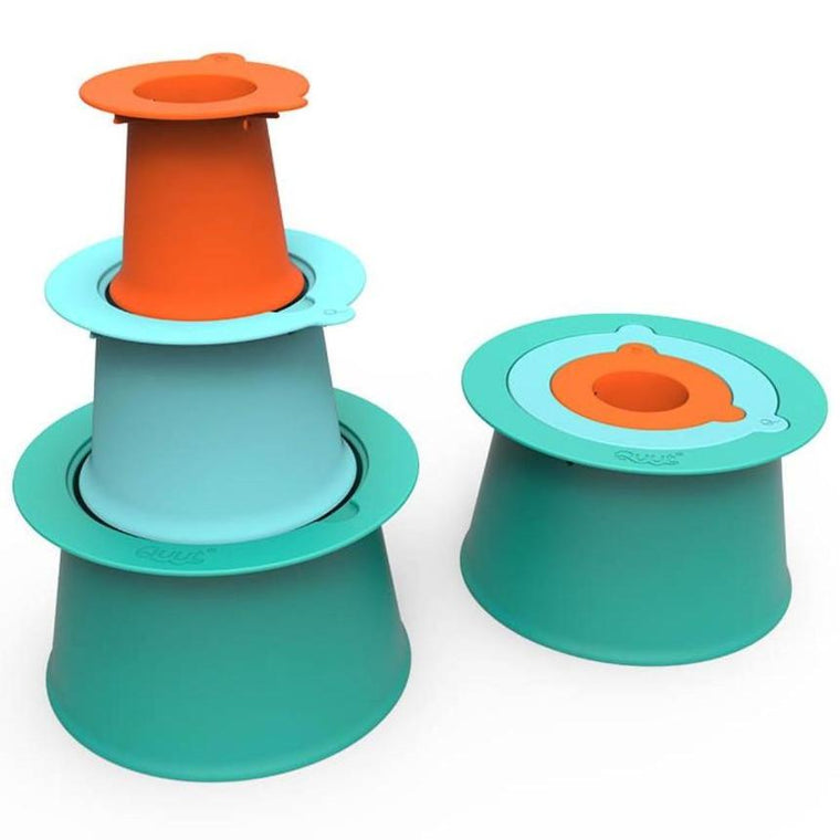 Quut Alto - Green, Blue & Orange - Sand Castle Builder