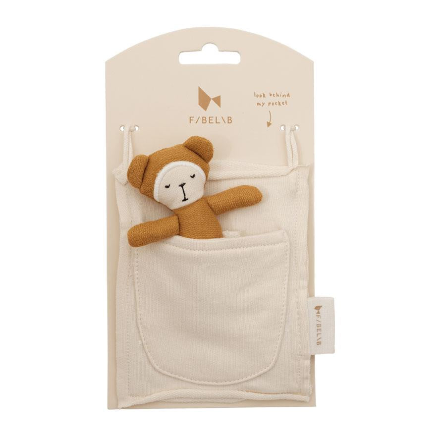 Fabelab Pocket Friend Bear - Ochre