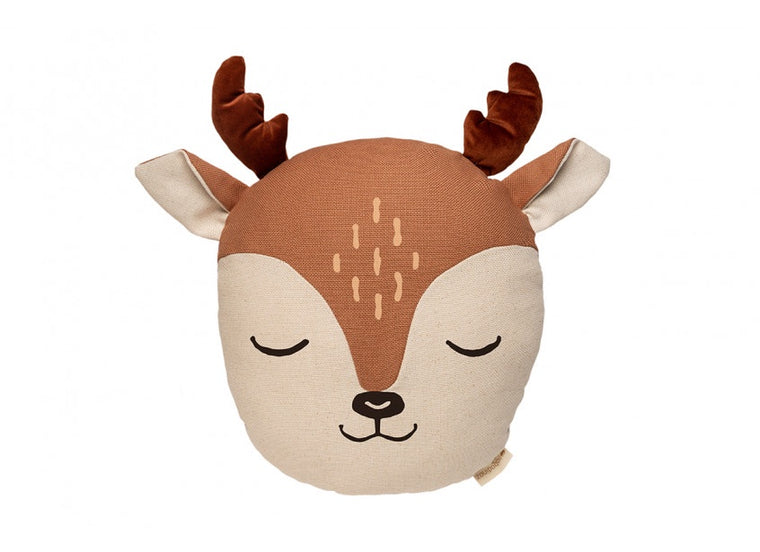 Nobodinoz Deer Cushion Sienna
