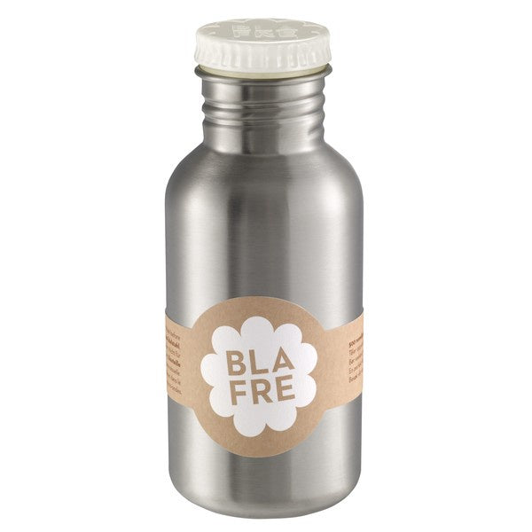 BLAFRE Steel Bottle 300ml WHITE
