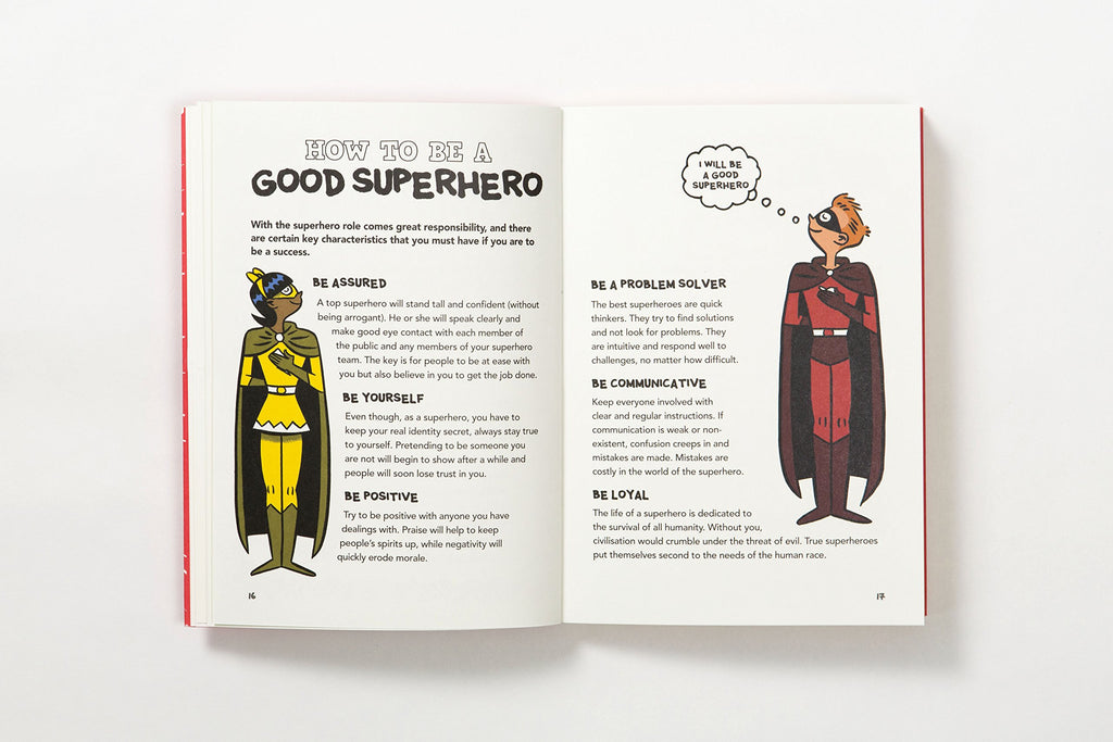 The Superhero Handbook: 20 Super Activities to Help You Save the World