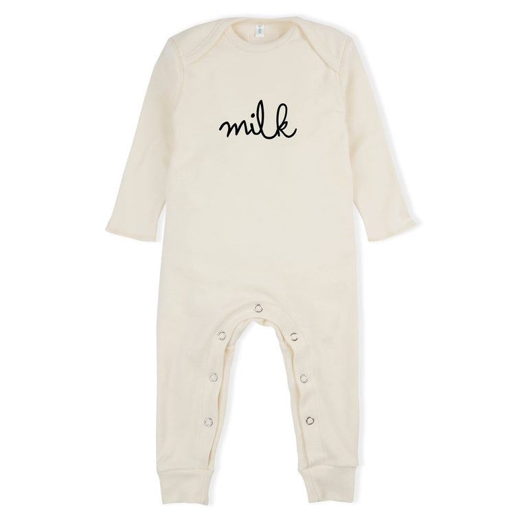 Organic Zoo NATURAL PLAYSUIT MILK