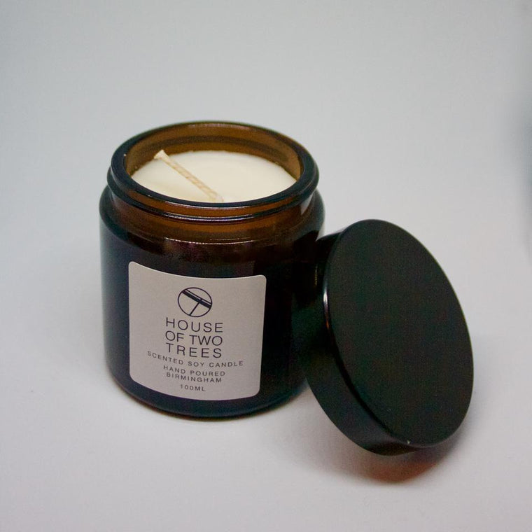 CALM | CEDARWOOD AND JASMINE Soy Candle - Small