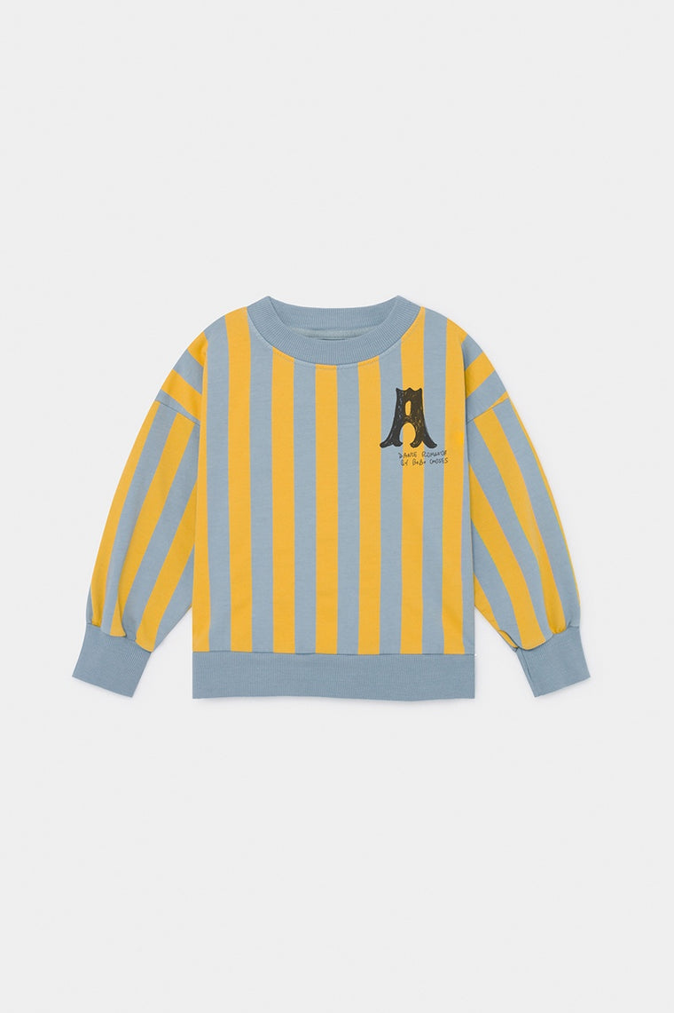 BOBO CHOSES A Dance Romance Striped Sweatshirt