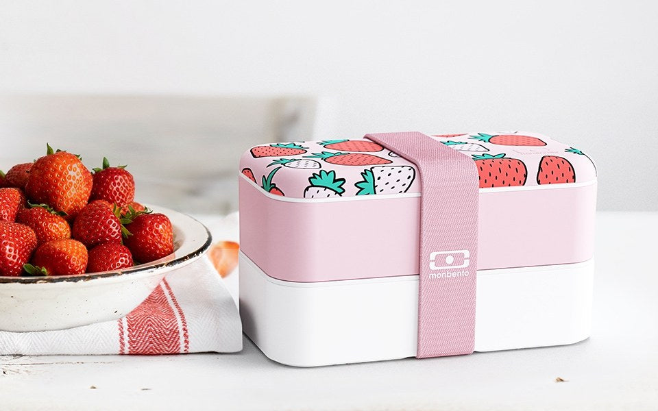 Monbento Original Lunch Box STRAWBERRY