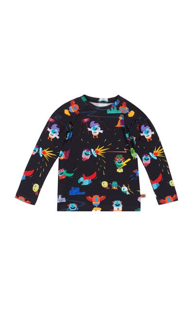 lamama Long Sleeve Tee MONSTRUITOS