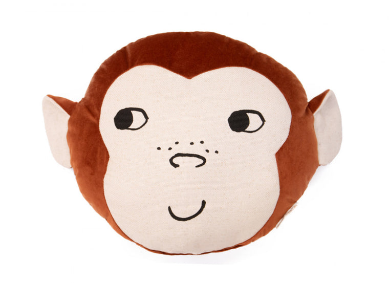 Nobodinoz Monkey Cushion