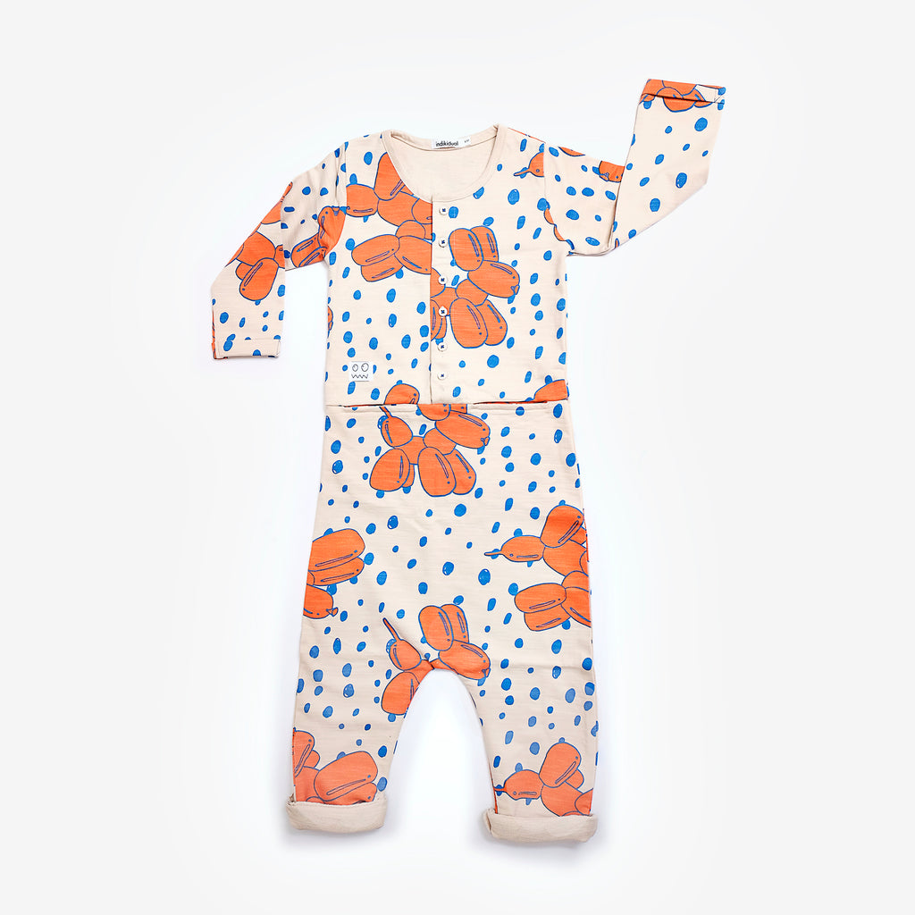 Indikidual Balloon Dog Jump Suit