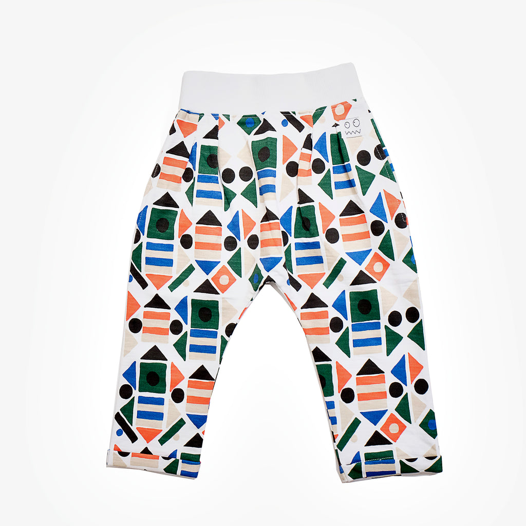 Indikidual Shapes Harem Pants