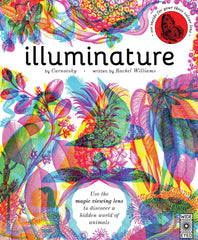 Illuminature: Discover 180 animals with your magic three colour lens (See 3 images in 1)