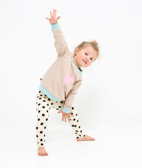 lamama Leggings Big Dot