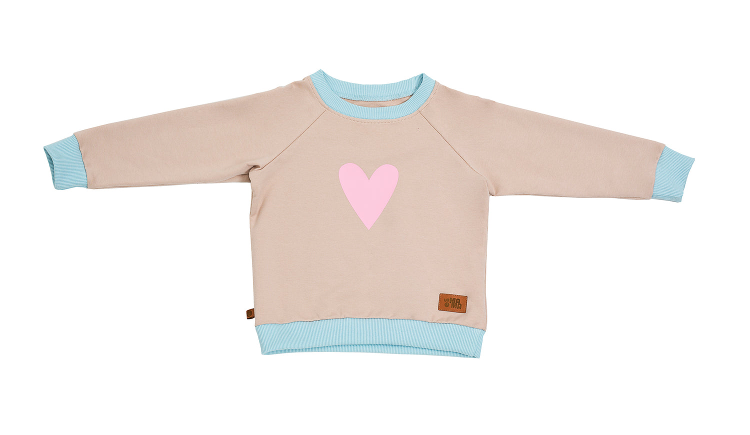 lamama Jumper Cream Heart