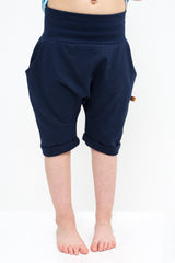 lamama Shorts Navy