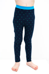 lamama Leggings Multi Navy