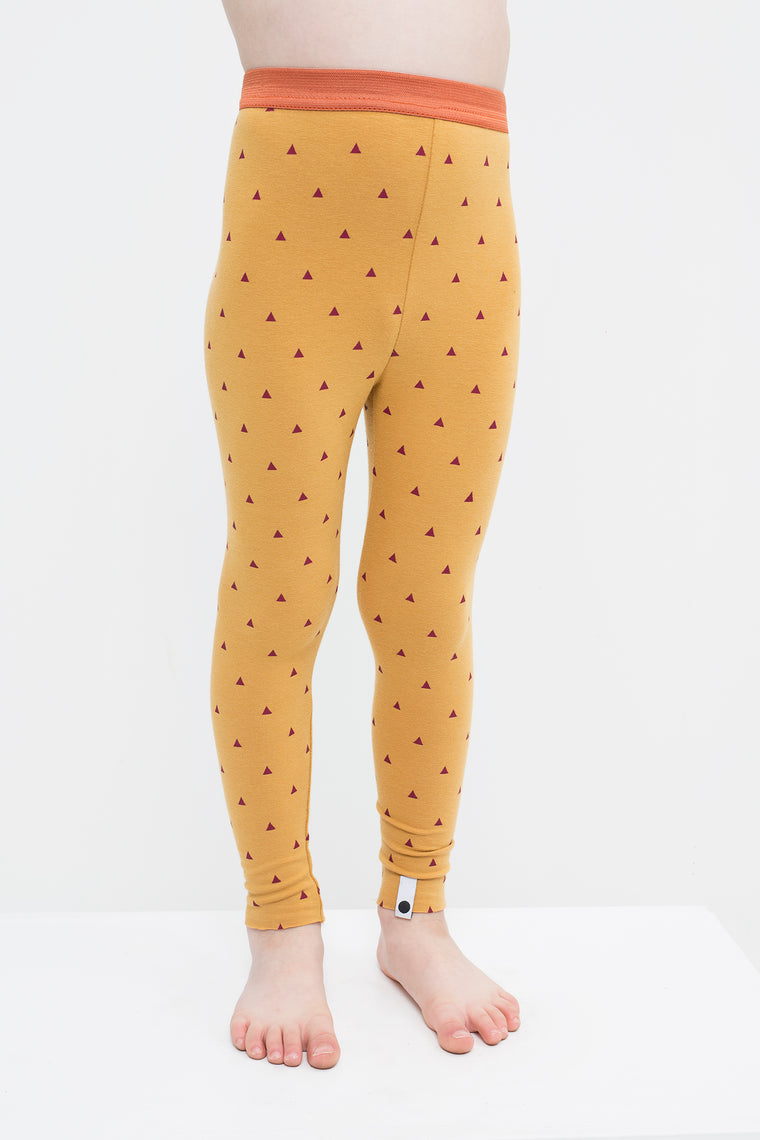 lamama Leggings Multi Mustard