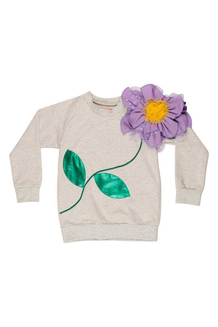 BANG BANG Copenhagen Flower Gray Jumper