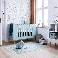 done by deer BABY COT  70 x 140 cm, Grey