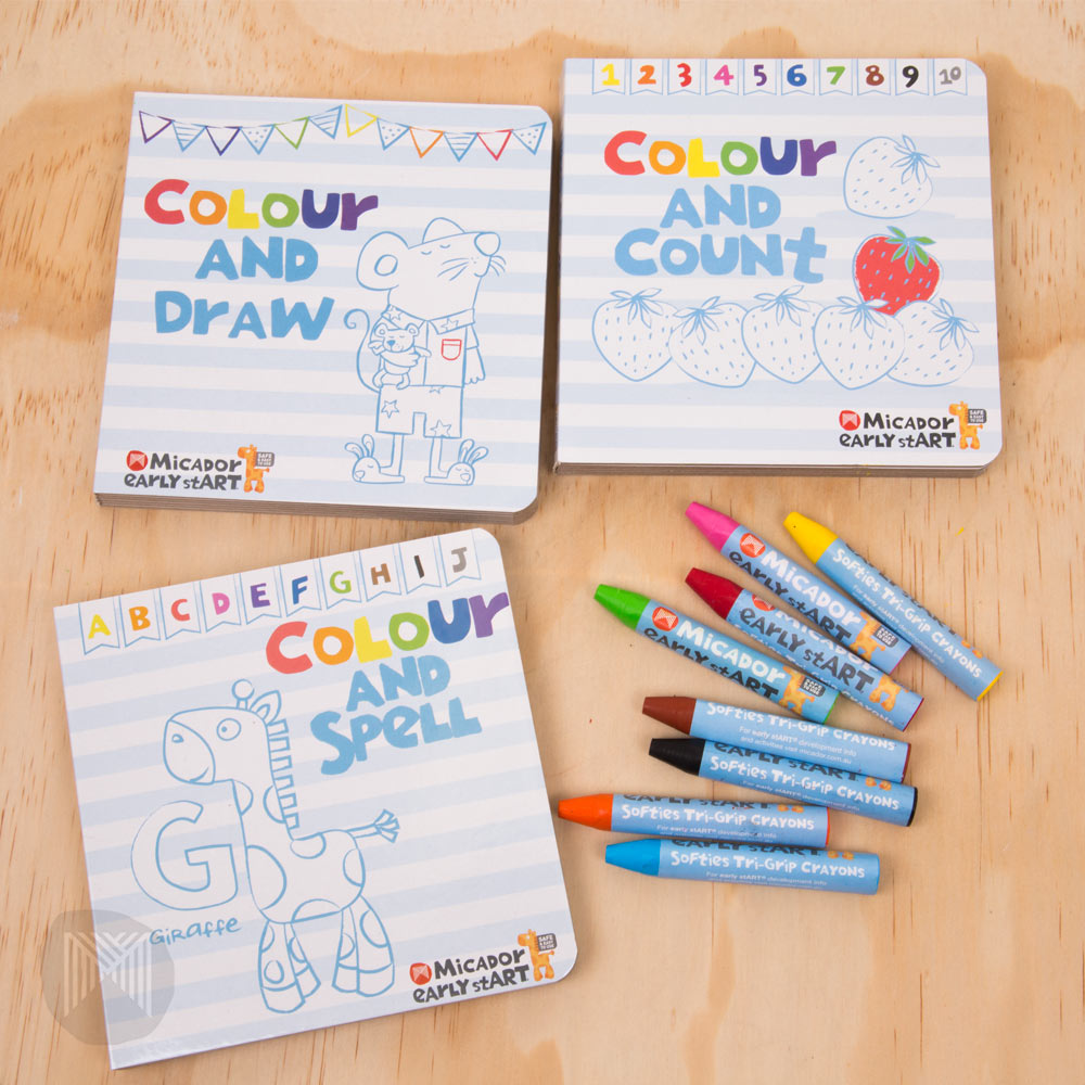 MICADOR early stART Colourtivities Board Books