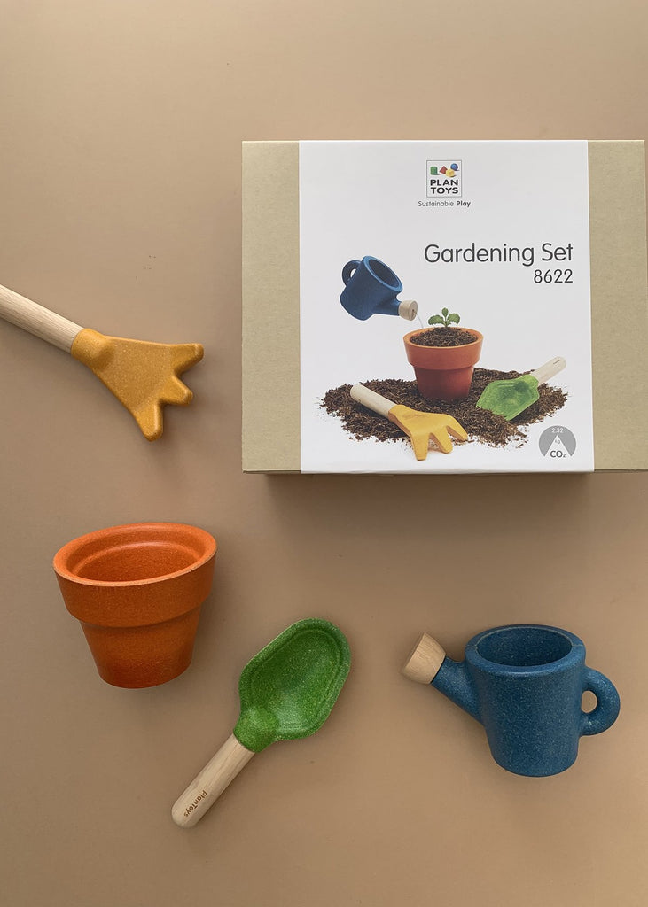 Plan Toys Wooden Gardening Set