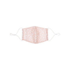 Mimi and Lula Child star print face mask-pink