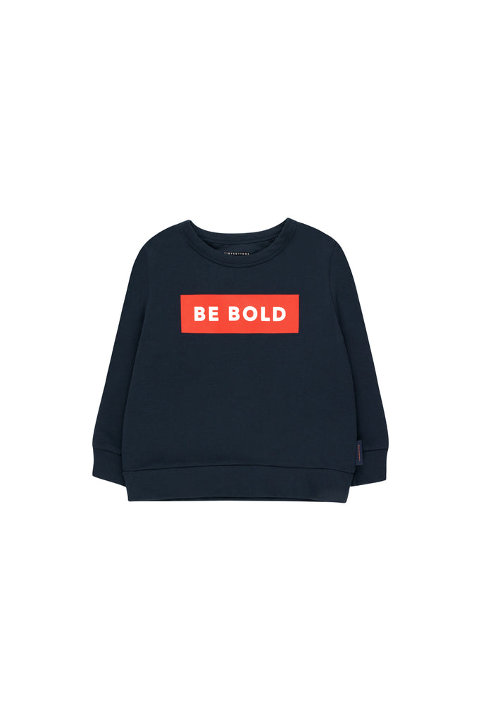 Tiny Cottons BE BOLD SWEATSHIRT navy / red