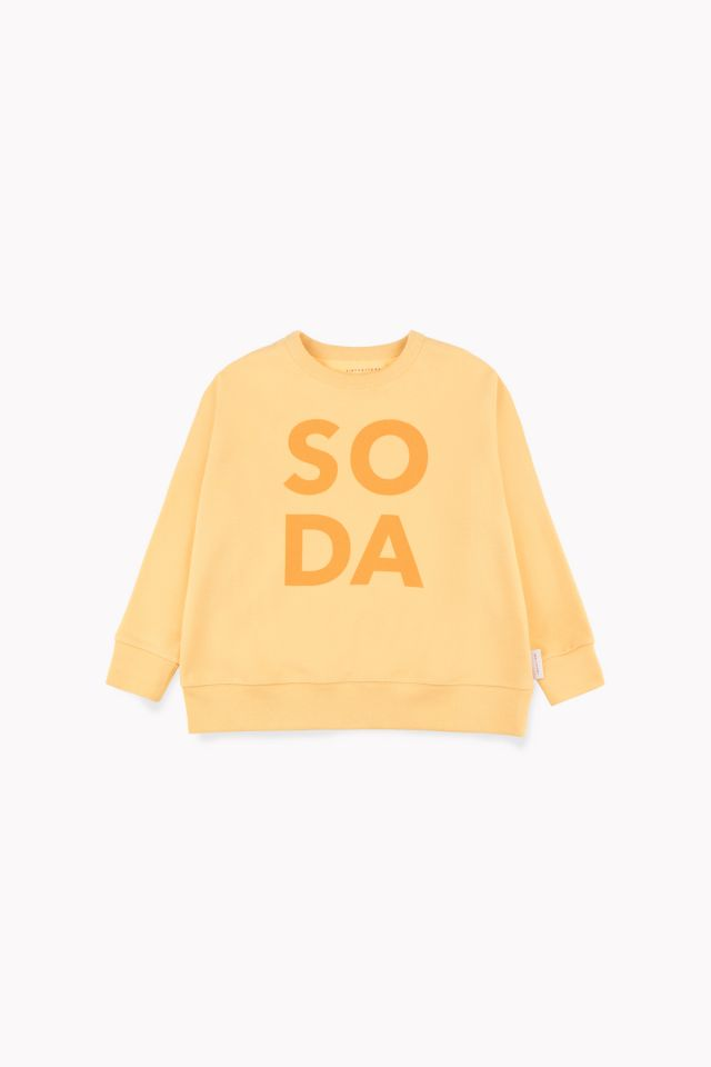 Tiny Cottons BE BOLD SWEATSHIRT canary / deep yellow