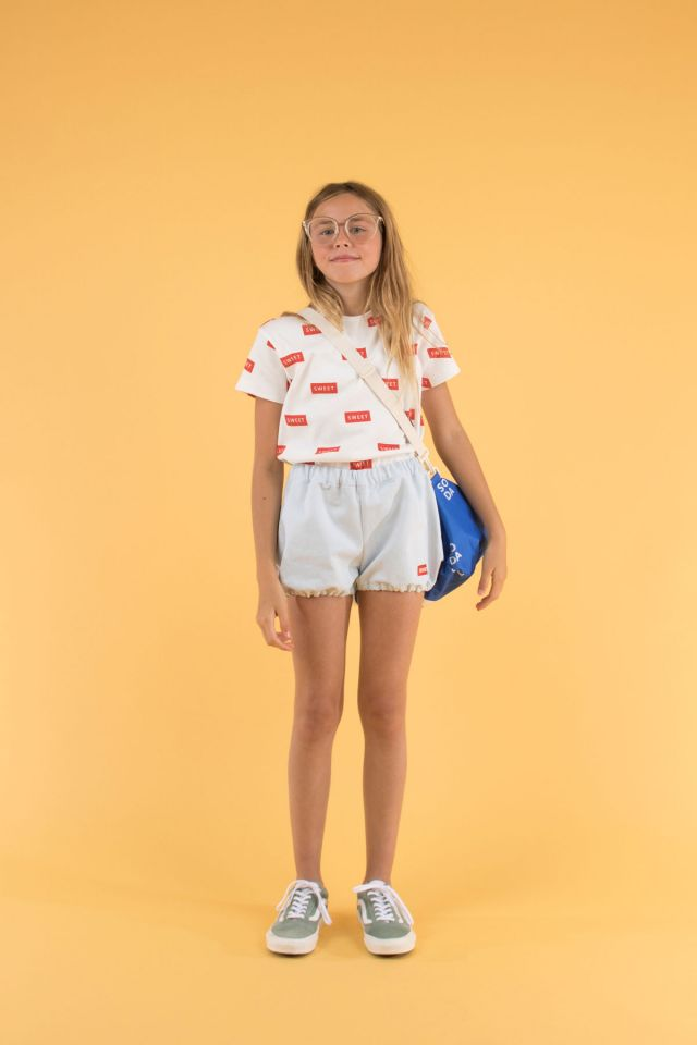 Tiny Cottons DENIM BALLOON SHORT