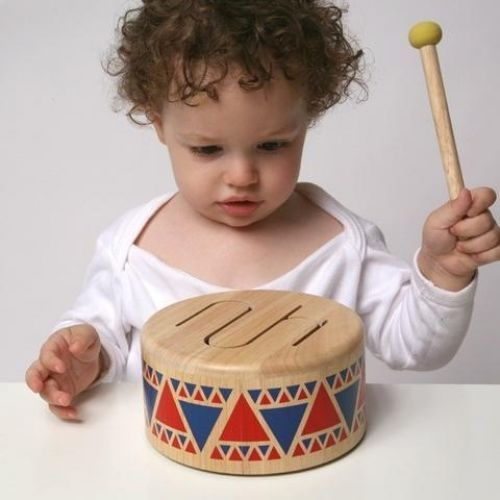 Plan Toys -Solid Drum