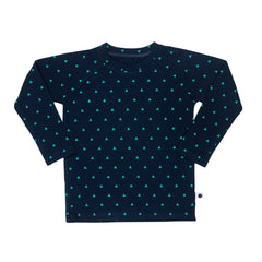 lamama Long Sleeve Malti Navy